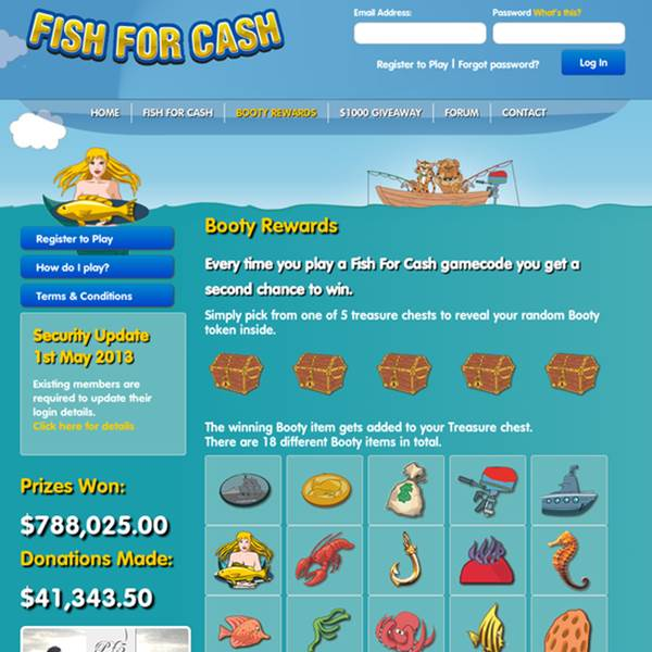 Fish For Cash
