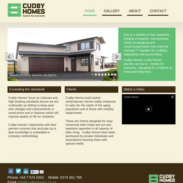 Cudby Homes