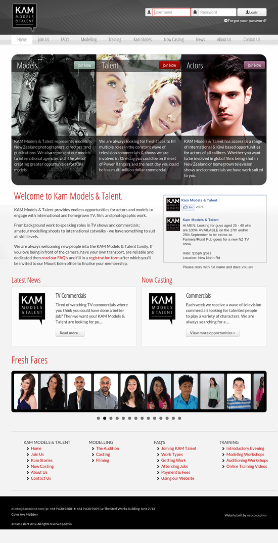 Kam Models & Talent