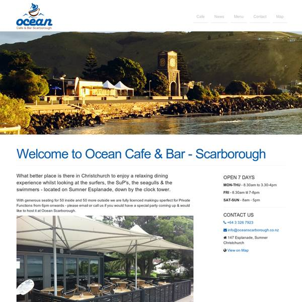 Ocean Cafe Scarborough