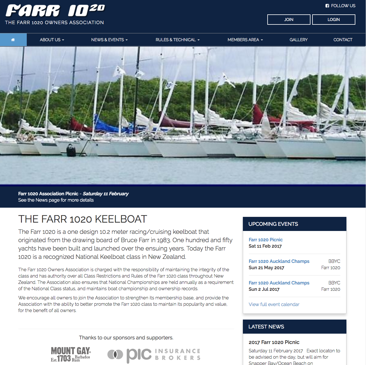 Farr 1020 Owners Association